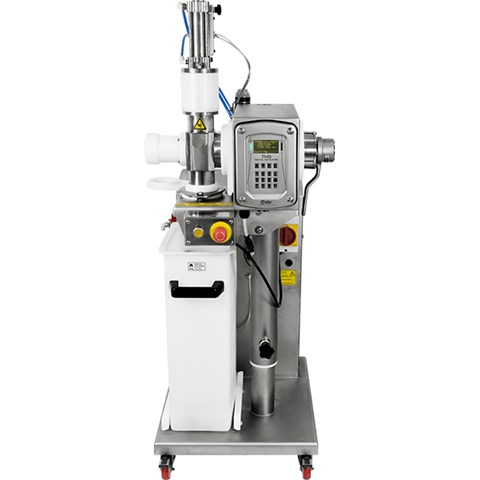 Pass-through with ejection valve integrated system for applications on meat vacuum filler machines THS/PLVM21 series